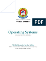 2 Operating Systems - Harith