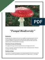 Fungal Biodiversity