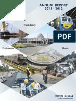 Rites Annual Report 2011-12