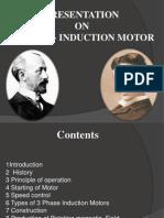 Presentation on 3 Phase Motor