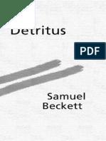 Beckett Detritus