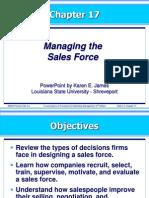 kotler17exs-Managing the Sales Force.ppt