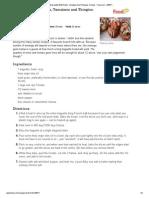 Bruschetta With Pesto, Tomatoes And Thingies. Recipe - Food.pdf