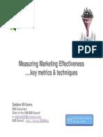 BrightTALK_Measuring Marketing Effectiveness