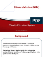 Notes on National Literacy Mission (NLM)