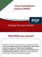 Mahila Kisan Sashaktikaran Pariyojana (MKSP).pdf