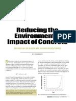 environmental impact of concrete