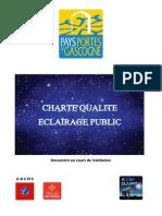 CHARTE Eclairage Public