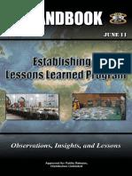 11-33 Establishing a Lessons Learned Program.pdf