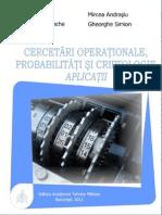 Cercetari Operationale, Probabilitati Si Criptologie. Aplicatii_Ed I_rev 20.10.2012