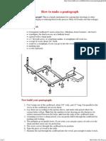Mr. Science - Make a Pantograph