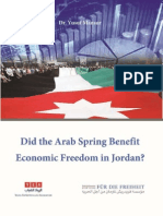 Did the Arab Spring Benefit Economic Freedom in Jordan?
