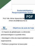 Aula 2 - 01-07-13 - Slides - Sustentabilidade e Responsabilidade Social