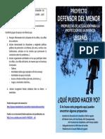 Proyecto Def. Menor. Manual de Actuacion Actualizado Mayo 2013 PDF
