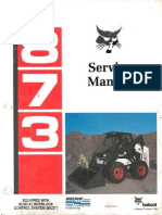 Bobcat 873 Repair Manual