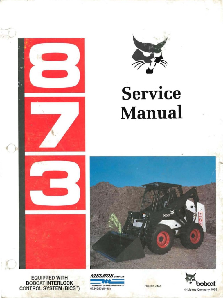 1509233913 koehring manual motor oil diesel fuel bobcat 873 wiring diagram at creativeand.co