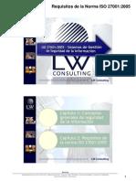Interpretación de requisitos ISO 27001