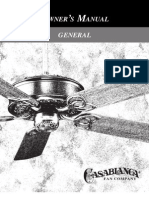 Casablance General Manual