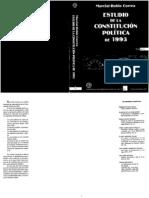 Constitucion Politica 1993 Vol 1