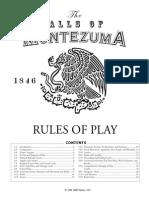 Hal of Montezuma Rulebook