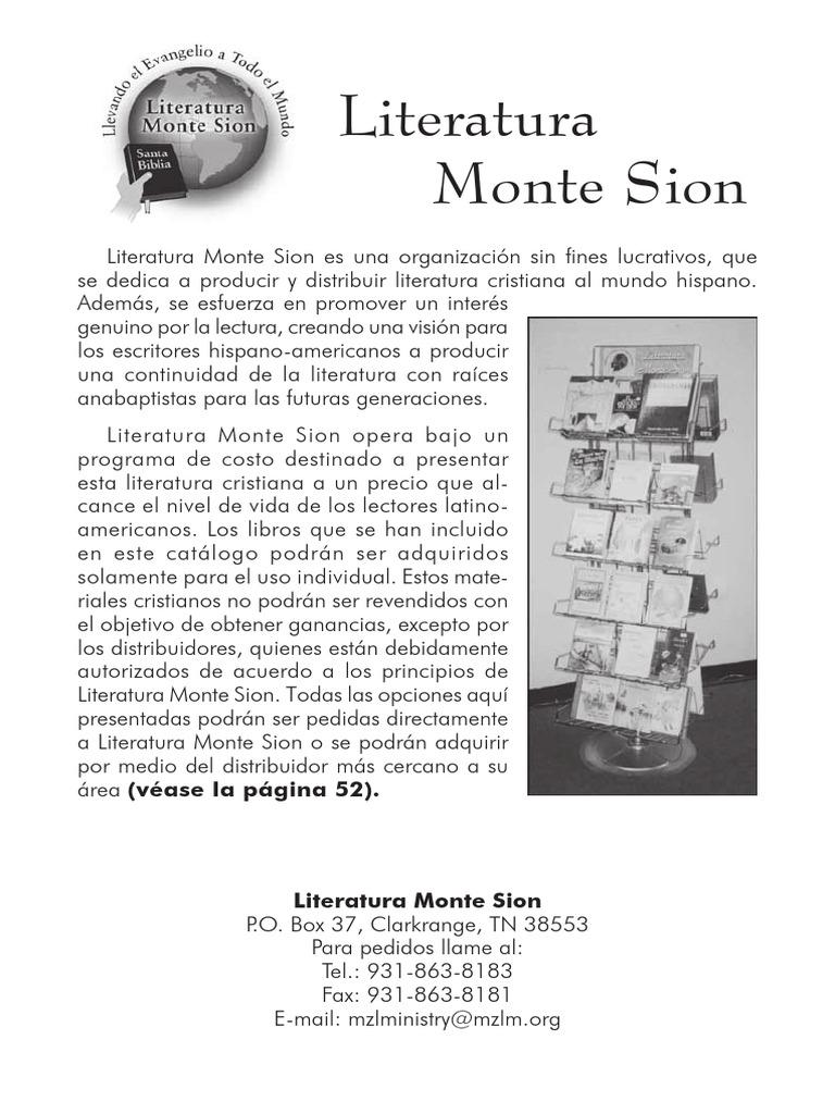 Literatura Monte SIon
