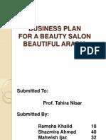 salon business plan