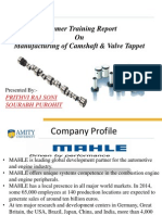 TRAINING Manufacturing of Camshaft & Valve TappetPRESENTATION.ppt