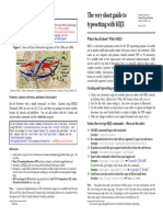 Latex Guide | Te X | Portable Document Format