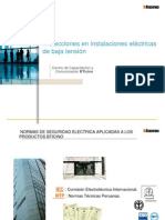 Charla AEP Protecciones Eléctricas 2012