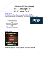Henry Fayol General Principles of Management.doc