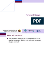 Pavement Design - Civil Engineering