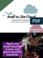 Andi vs. Die Cloud – Hippes Speichern in diesem Internet