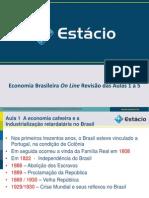 Revisao Aulas 1 a 5 Economia Brasileira ERI 0593
