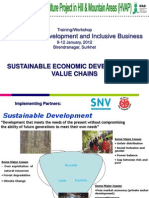 Sustinable Economic Development & Value Chains.ppt