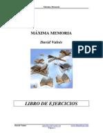 Máxima Memoria - Libro de Ejercicios