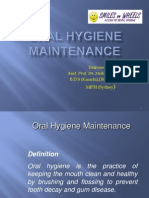 Oral Hygiene Maintenance - Dr. Nadeem