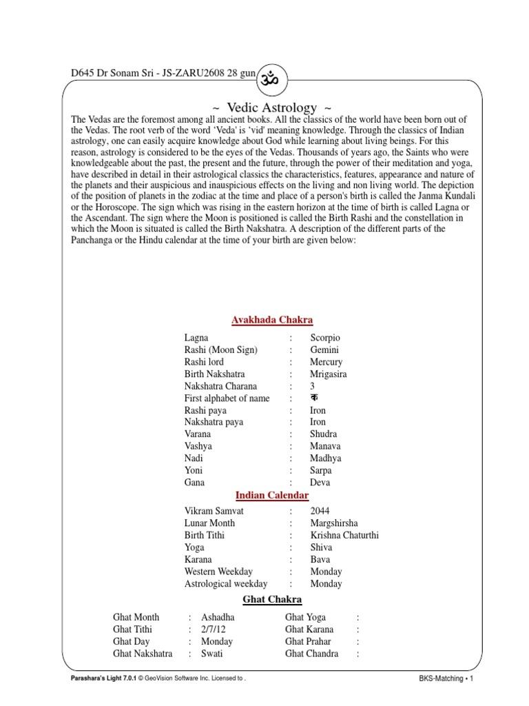 Dr Sonam pdf | Hindu Astrology | Astrology