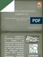 1.La Arquitectura Bioclimatica