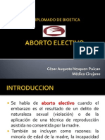 ABORTO ELECTIVO