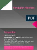 Pengujian-Hipotesis