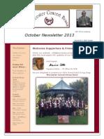 WCB Newsletter Oct 2013