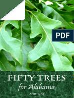 Fifty Trees of Alabama