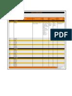 Matriz de Adquisiciones - Plantilla Con Ejemplos