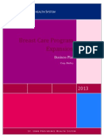 business plan breast program2