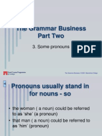 3. Relative Pronouns - Who, Which, What Etc