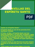 MARAVILLAS DEL ESPÍRITU SANTO.ppt