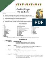 ancientegyptdiscoveryassignmentpopupbook