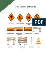 Conociendo las señales de transito