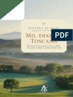 Mil Dias Na Toscana - Marlena de Blasi
