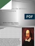 Vida y Obra de William Shakespeare